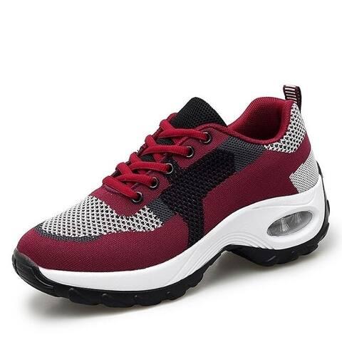 Lightweight Walking Sneakers Fitness Shoes