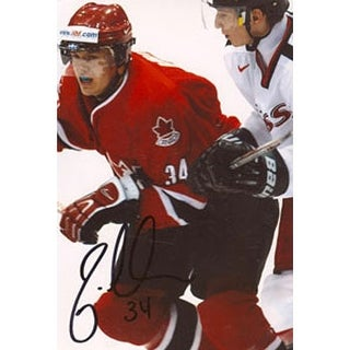 Jared Aulin Team Canada Autographed 4x6 Photo This item comes with a certificate of authenticity from AutographSport