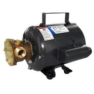 Jabsco Bronze AC Motor Pump Unit-115v - 11810-0003