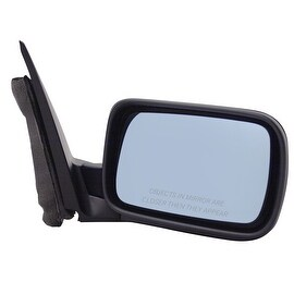 Pilot Automotive TYC 8500431 Black Passenger/ Driver Side Folding Power Non-Heated Replacement Mirror for BMW 3 Series