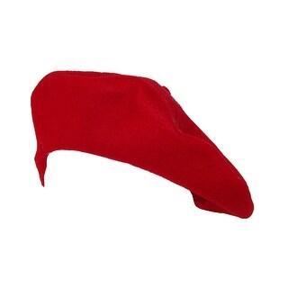Betmar Women's Wool French Beret Hat - Black - One Size