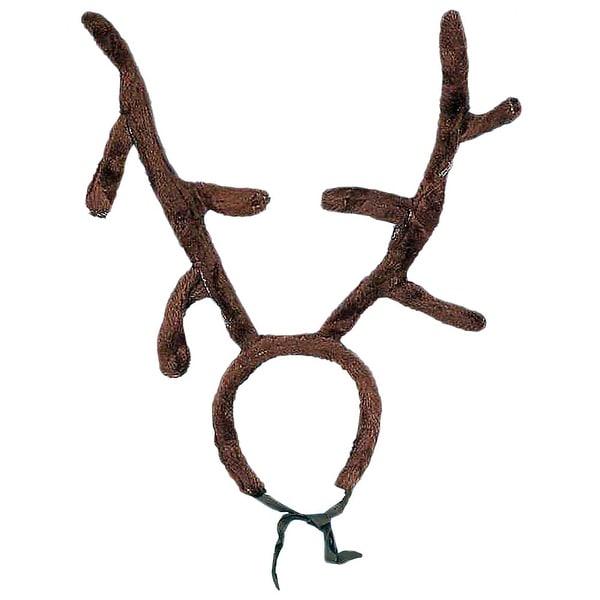 Reindeer Antlers Adult Costume Accessory