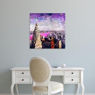 Easy Art Prints James Grey's 'Chrysler View' Premium Canvas Art