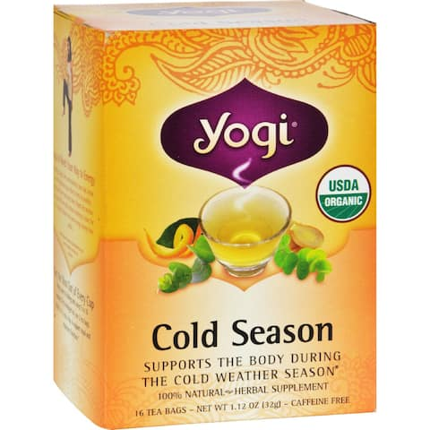 Yogi Tea Cold Season - Caffeine Free - 16 Tea Bags