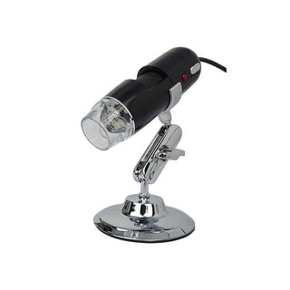 AGPtek Handheld Digital USB Microscope and Stand with Built in 2MP Camera for Capture of Video and Images