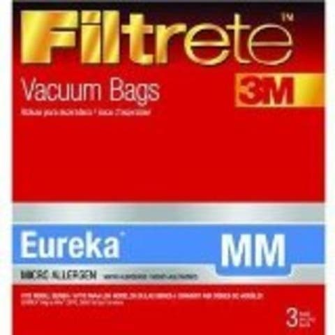Filtrete 67703A-6 Vacuum Cleaner Bag, Eureka Style Mm