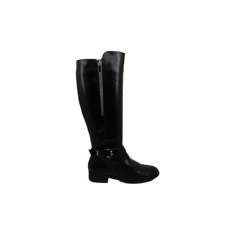 Material Girl Women's Shoes winnnie Closed Toe Over Knee Riding Boots