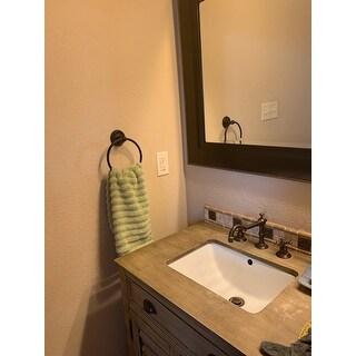 Amrapur Overseas Wavy Luxury Spa Collection 6-piece Quick Dry Towel Set
