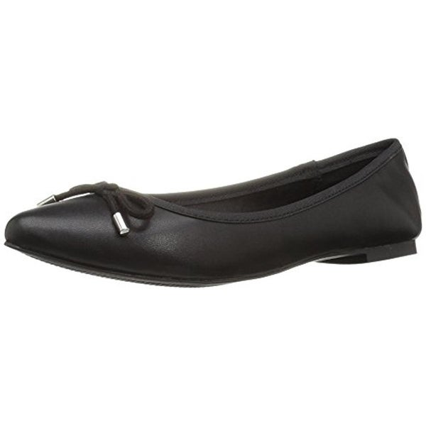 Zigi Soho Womens Tashia Ballet Flats Faux Leather Pointed Toe