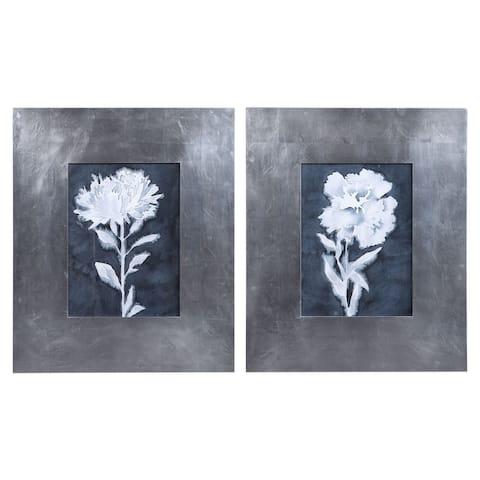 Uttermost Dream Leaves Floral Prints (Set of 2)