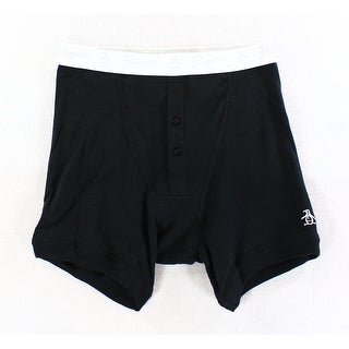Penguin by Munsingwear NEW Black Mens Size Small S Boxer Brief Underwear