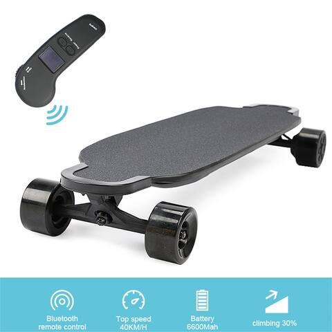 AOOLIVE electronic longboard skateboard with dual hub motors 600w*2