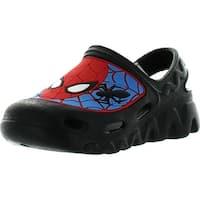 Marvel Boys Spiderman Clog Sandals - blue-black-red