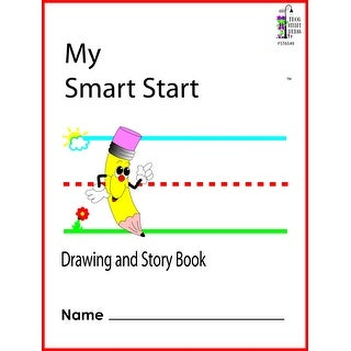 Frog Street Press Smart Start Drawing and Story Book, 8-1/2 x 11 Inches