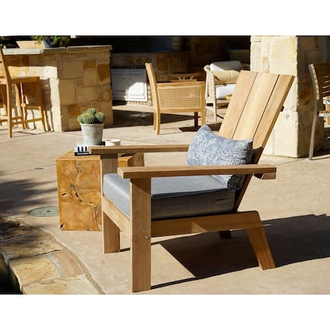 Palmilla Harbor Teak Outdoor Patio Lounge Chair