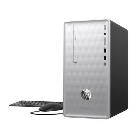 HP Pavilion 590 Desktop PC Intel i7-8700 12GB 1TB HDD Radeon RX550 2GB (Renewed)