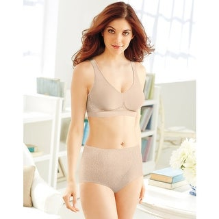 Bali Tummy Panel Brief Light Control 2-Pack - Size - XL - Color - Nude/Nude Deluster