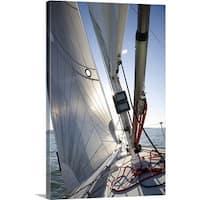 Premium Thick-Wrap Canvas entitled Sail on Sail Boat