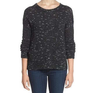 Halogen NEW Black Silver Knit Women's Size Large L Pullover