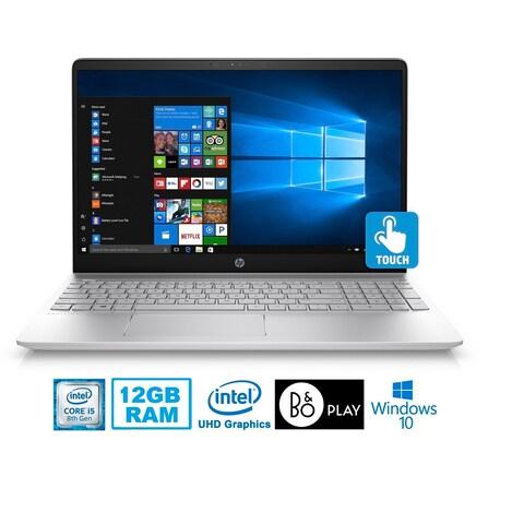 "HP Pavilion 15-CC123 Intel Core i5-8250U 12GB 1TB HDD 15.6"" Touch Screen Laptop"
