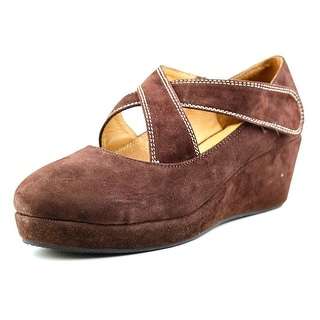 DonnaBella France Round Toe Suede Loafer