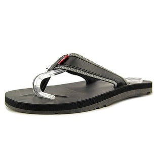 Levi's Jarupa Mix Open Toe Canvas Thong Sandal