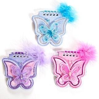 Butterfly Notepad & Pen
