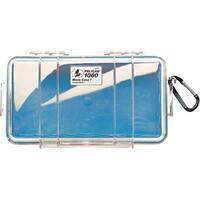 Pelican 1060-026-100 1060 Micro Case(Tm) (Blue/Clear)