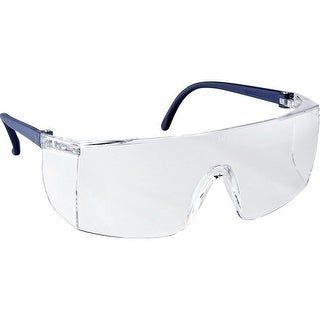 3M 90780-00000T General Purpose Safety Glasses with Clear Lens & Black Frame
