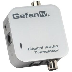 Gefen GTV-DIGAUDT-141 Gefen GTV-DIGAUDT-141 GefenTV Digital Audio Translator