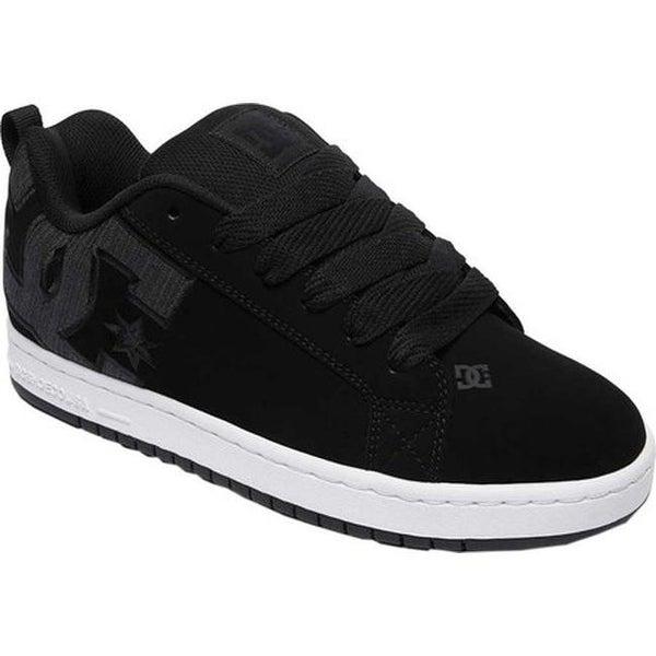 575960bea235d5 Shop DC Shoes Men's Court Graffik SE Grey/Black/Black - Free ...