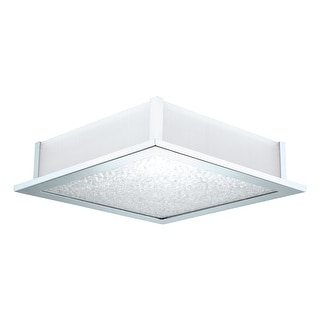 Link to Eglo Auriga 5-light Chrome Ceiling Light with Frosted Glass Similar Items in Flush Mount Lights