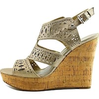 GUESS Womens Vannora Open Toe Casual Platform Sandals