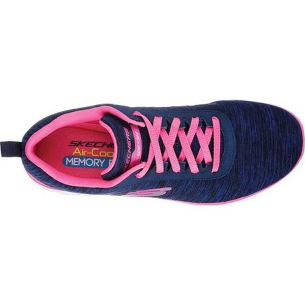 skechers flex appeal 2.0 navy pink