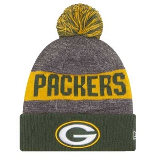 Shop New Era Green Bay Packers Beanie Sideline Knit Cap Hat NFL Team Sport  11289170 - Free Shipping On Orders Over  45 - Overstock.com - 17743887 6fca9a348