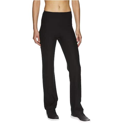 Reebok Womens Highrise Running Compression Athletic Pants