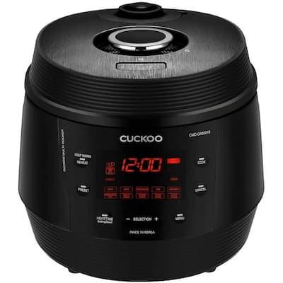 Cuckoo CMC-QAB501S Q5 Standard 8 in 1 Multi Pressure Rice Cooker (Midnight Black)