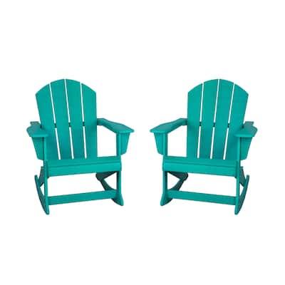 Laguna Adirondack Rocking Patio Chair (Set of 2)