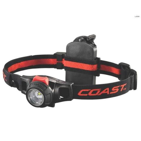 Coast TT7498CP HL7R Rechargeble Headlamp Flashlight, Twist Focus