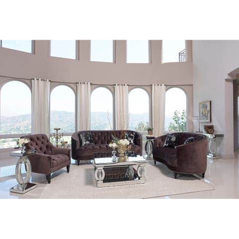Gracewood Hollow Forna Upholstered Living Room Set with Sloped Arms