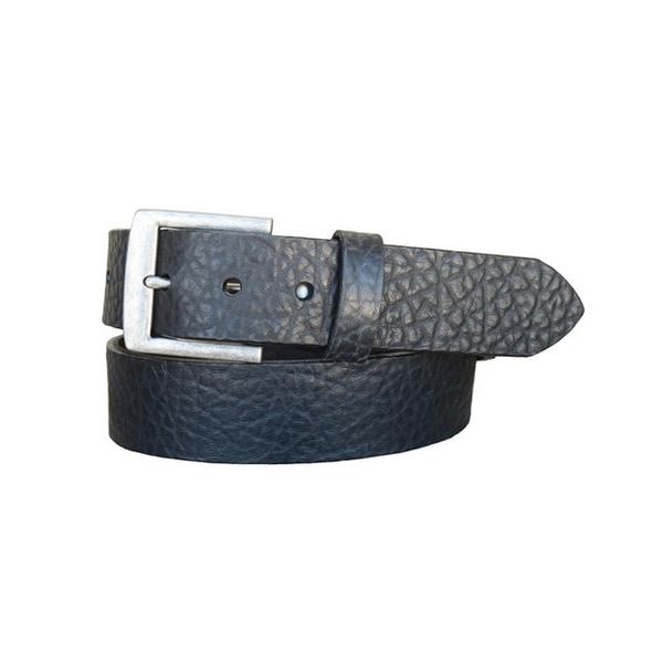 Vintage Bison Western Belt Mens Chaparral Leather Black