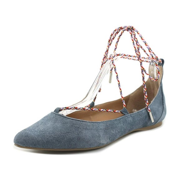 28cf85942635 Shop Steve Madden Emilie Blue Flats - Free Shipping Today ...