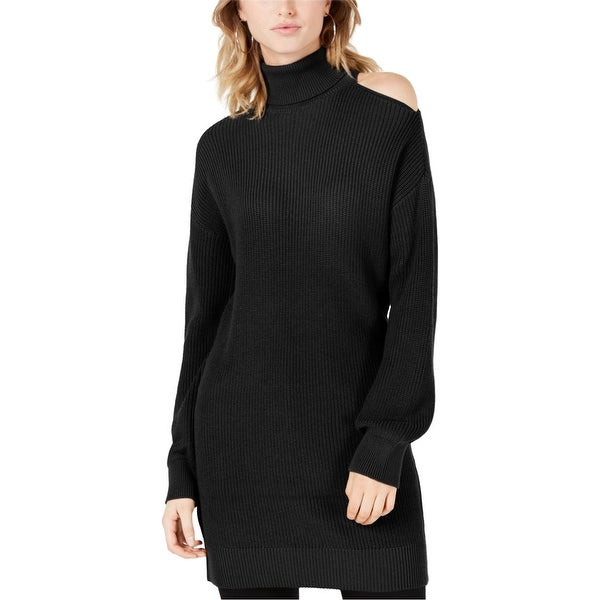 Bar Iii Womens Cold Shoulder Pullover Sweater. Opens flyout.