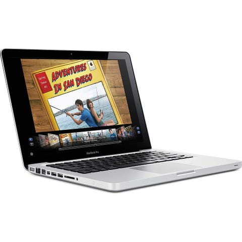 Apple MacBook Pro MC374LL/A Intel Core Duo P8600 X2 2.4GHz 4GB 250GB,Silver(Scratch and Dent)