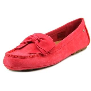 Ugg Australia Lilliana Women Round Toe Suede Pink Flats