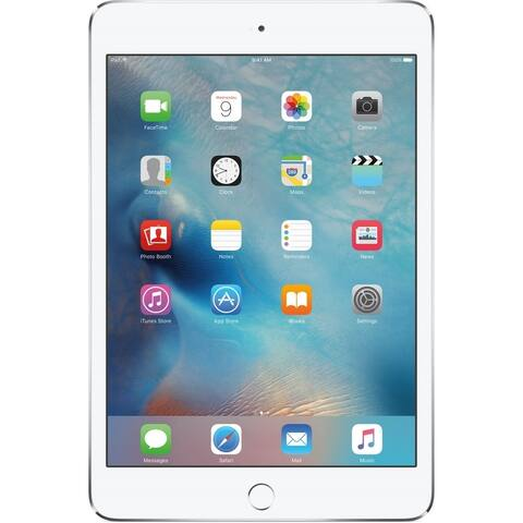 "Apple iPad Mini 4 MK7U2LL/A 7.9"" 128GB WiFi 4G LTE Cellular,Silver"