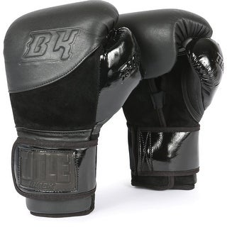 Title Black Blitz Boxing Bag Gloves