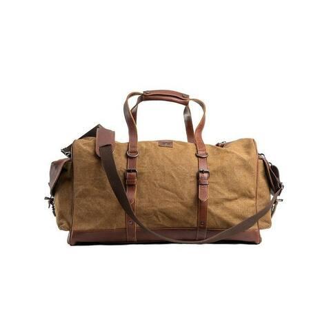 "StS Ranchwear Western Bag Adult High Plains Duffle Khaki - 21"" W x 12"" H x 10.5"" D"