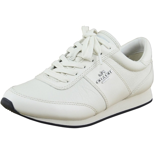 Coach Womens Raylen Leather Low Top Lace Up Fashion Sneakers