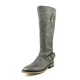Matisse Tawny Women Pointed Toe Leather Black Knee High Boot